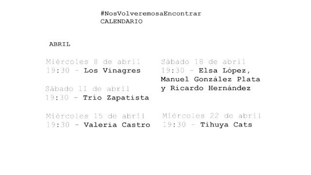 Cultura pone en marcha '#NosVolveremosaEncontrar' una plataforma on line para apoyar a los artistas de La Palma y compartir sus creaciones con el público