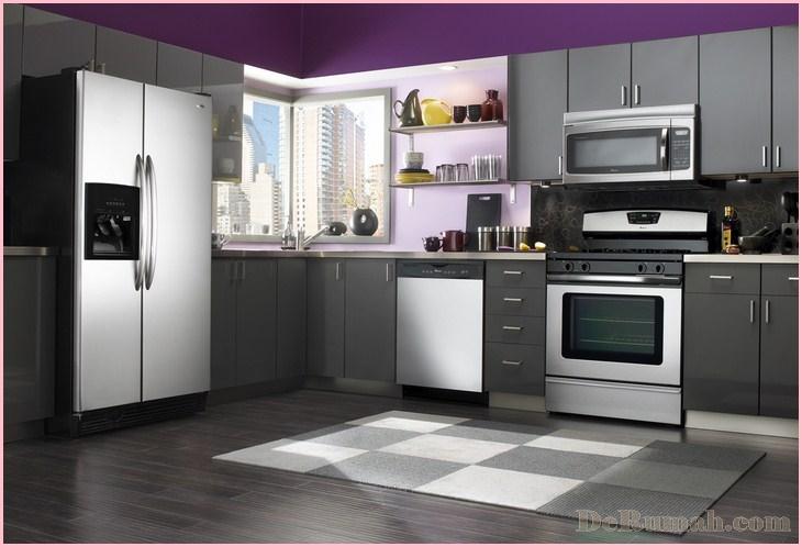 Cara Membersihkan Area Sekitar Dapur