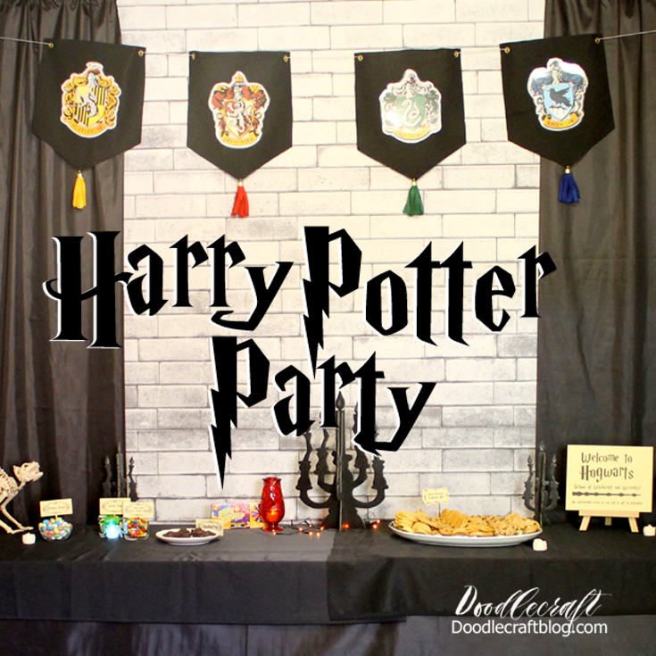http://www.doodlecraftblog.com/2016/10/harry-potter-halloween-party.html