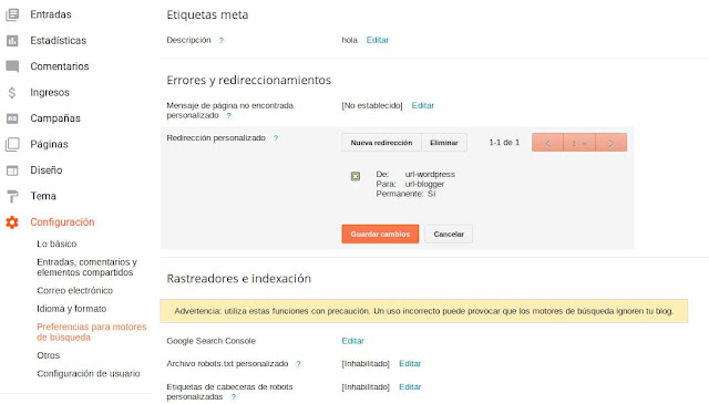Redirección-301-wordpress-blogger