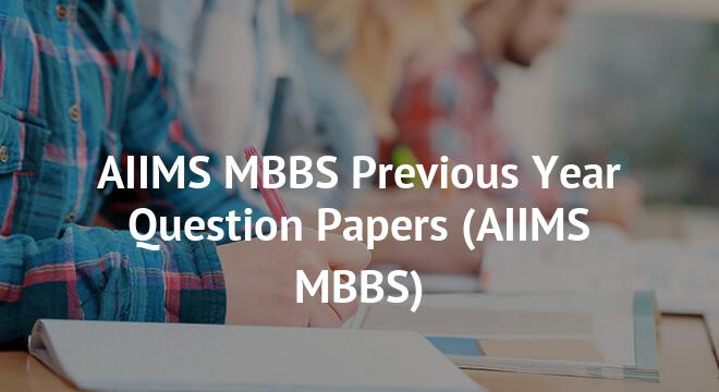 Aiims Previous Year Question Papers Pdf Free Download Medical Books