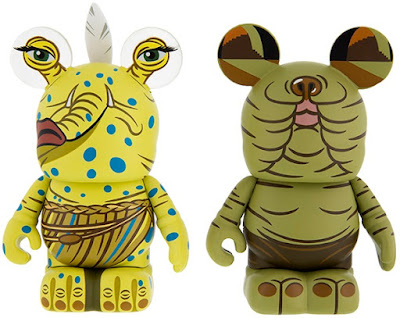 Star Wars Max Rebo Band Vinylmation Eazchez Vinyl Figures by Disney - Sy Snootles & Droopy McCool
