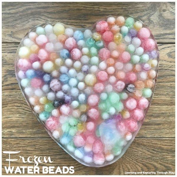 Heart Frozen Water Beads