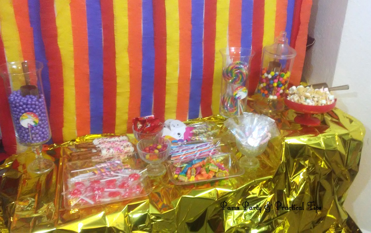 Tremendous Pams Party Practical Tips An Unicorn Candy Buffet On A Budget Interior Design Ideas Inesswwsoteloinfo