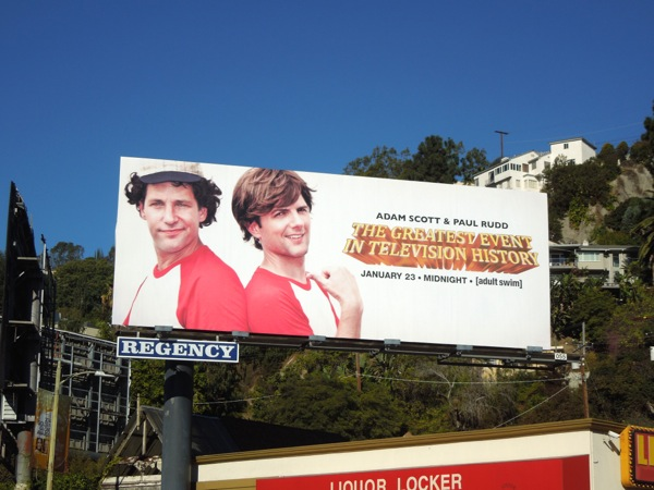 Greatest Event TV History Bosom Buddies spoof billboard