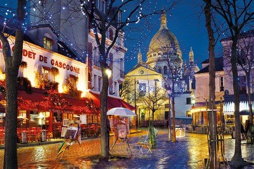 Caminhada em Montmartre em Paris