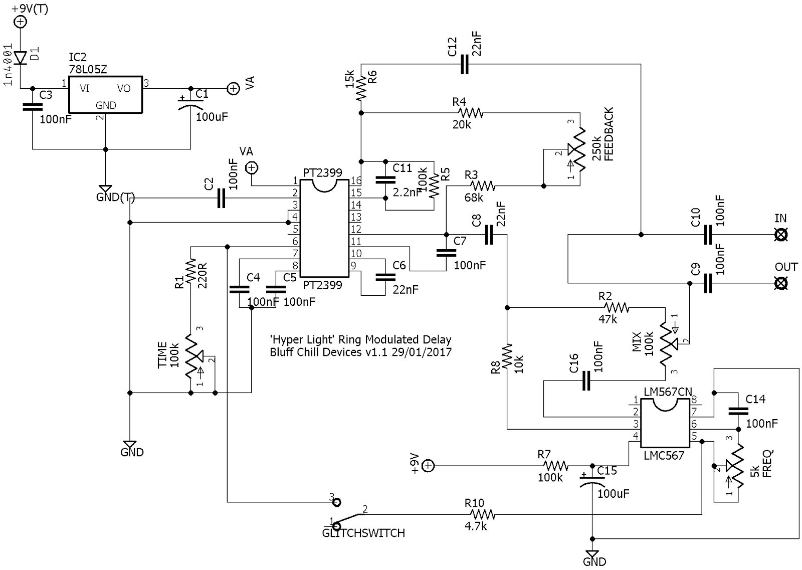 Bluff Chill Devices 2018 Envelope Follower Schematic For You Home Brew Types