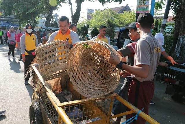 Aparat Polres Kebumen Serbu Pasar Tumenggungan untuk Bereskan Ini