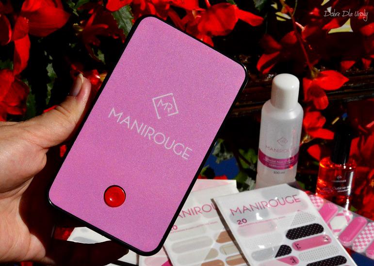 Naklejki termiczne Manirouge - zestaw Manirouge MAXI PLUS