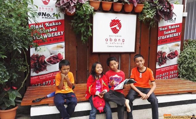 Restoran Abang dan Keluarga Untuk Tempat Makan di Cameron Highlands