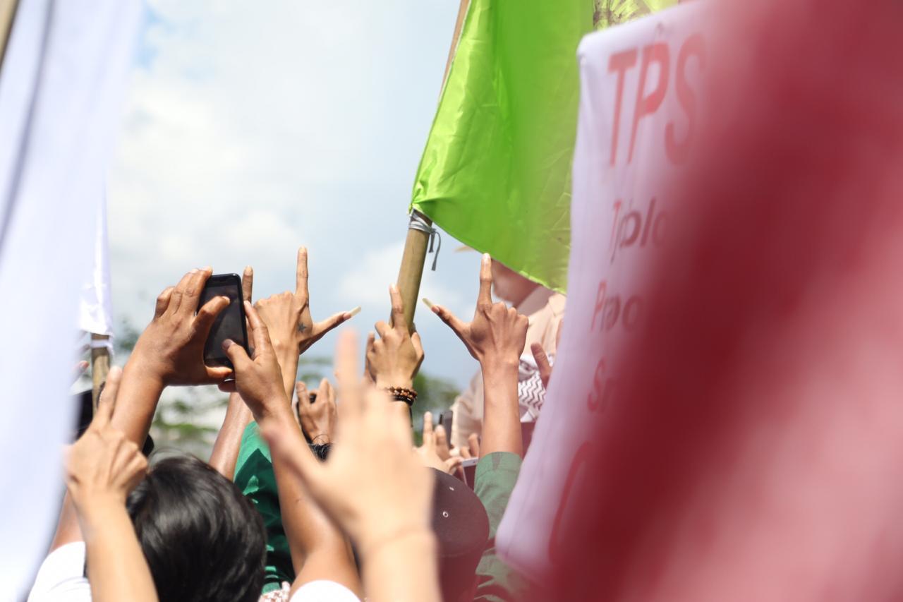 Terjadi di Banyumas, Penampakkan Kampanye 02 Bukti Tumbangnya Kandang Banteng?