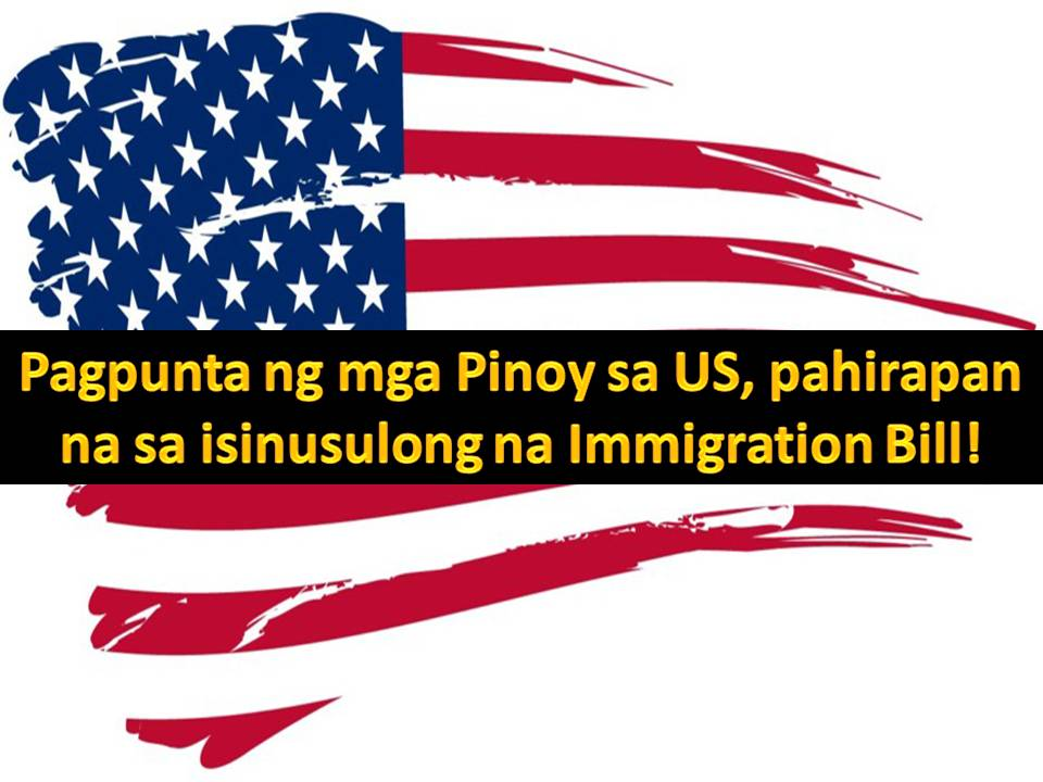 Around 400,000 Filipinos waiting to be brought to the US by their US-based relatives will be affected if a new immigration bill is passed.  US President Donald Trump has backed proposals for changes to the country's immigration law.  The RAISE Act (Reforming American Immigration for Strong Employment) aims to reduce the number of legal immigrants by 50% over the next 10 years.