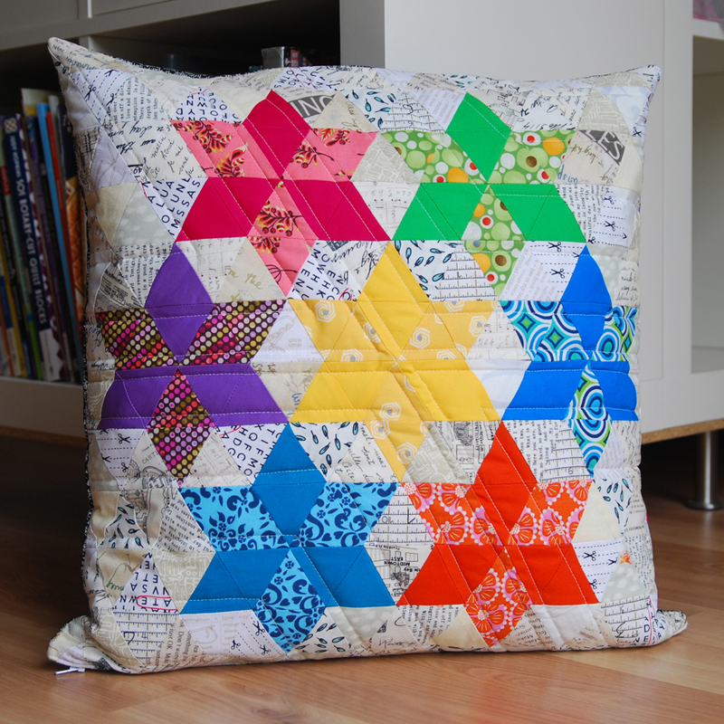 easypatchwork: pillow swap four seasons - a wonderful ...