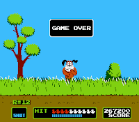 Here is #DuckHunt-an #NES game from the 80's. #Nintendo