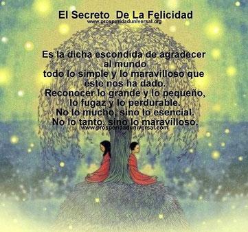 """""""El secreto de la felicidad"""""""