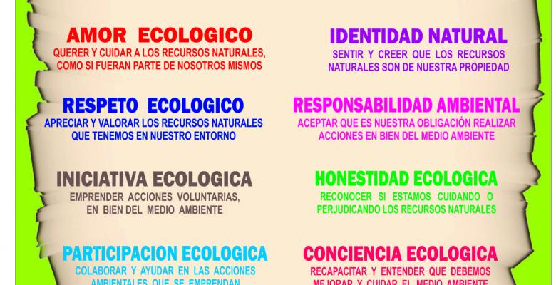 Educación en Valores ambientales