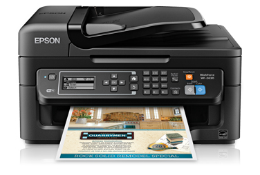 Xtrime Printer Drivers: Epson WorkForce WF-2630 Driver Download For