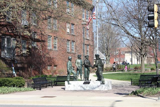 Veterans Valor Statue Naperville
