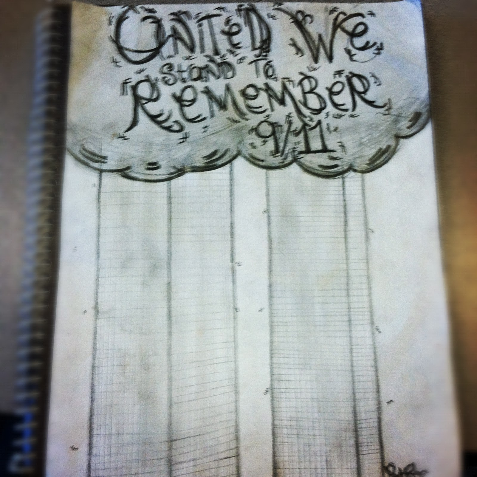 My Life My Thoughts Shared: My 9/11 Drawing
