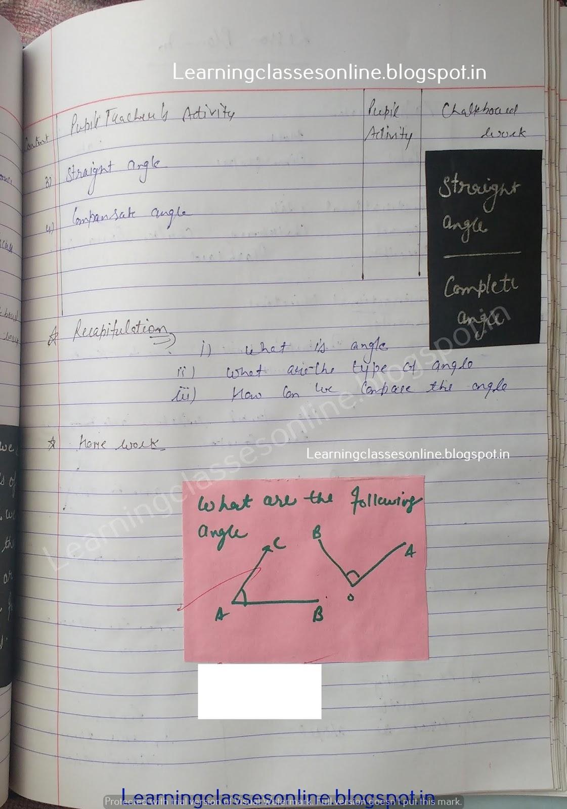 Lesson Plan For Maths Class 9,