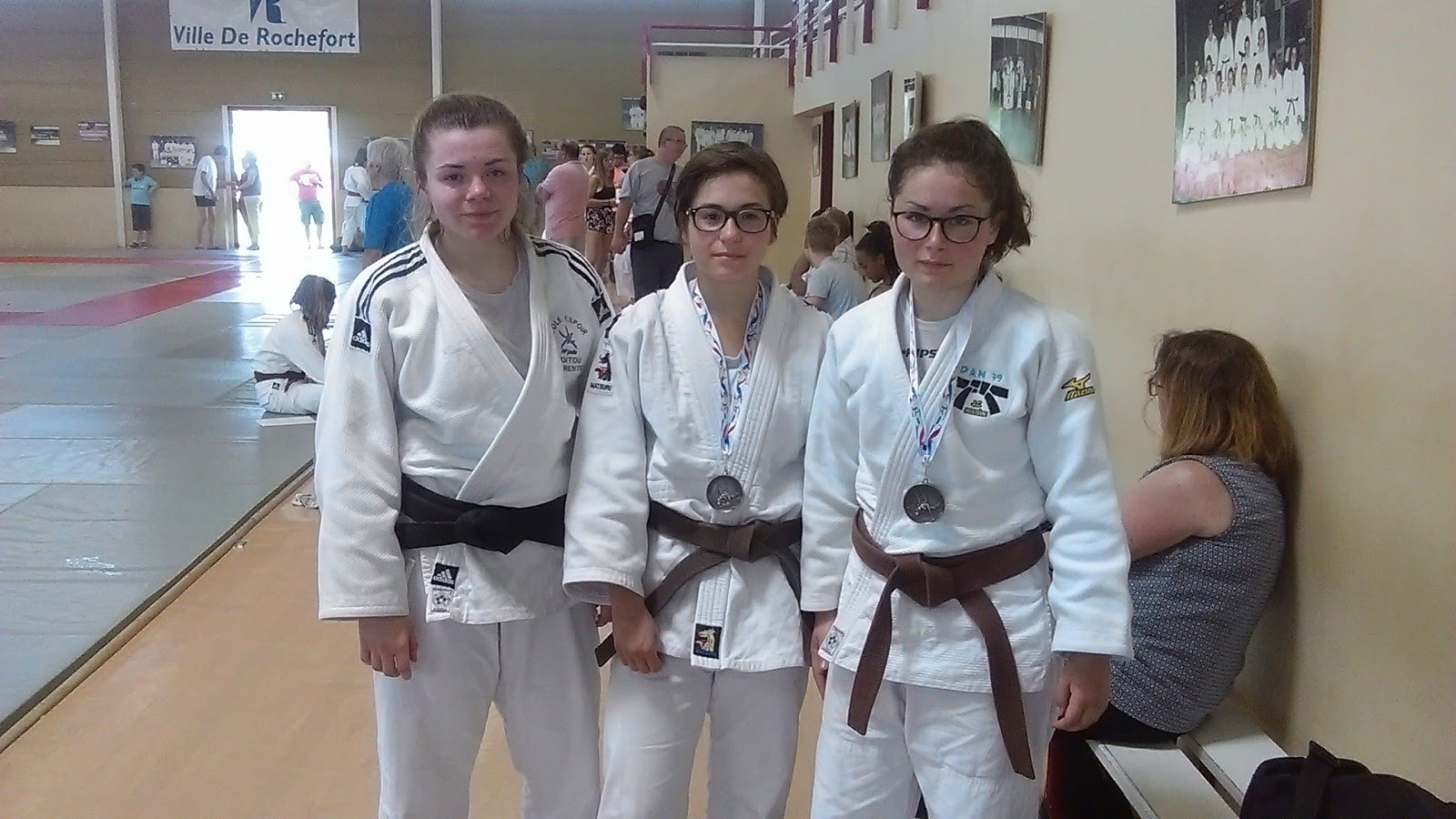 Dojos de l 39 agglom ration du niortais 79 - Institut national du judo porte de chatillon ...