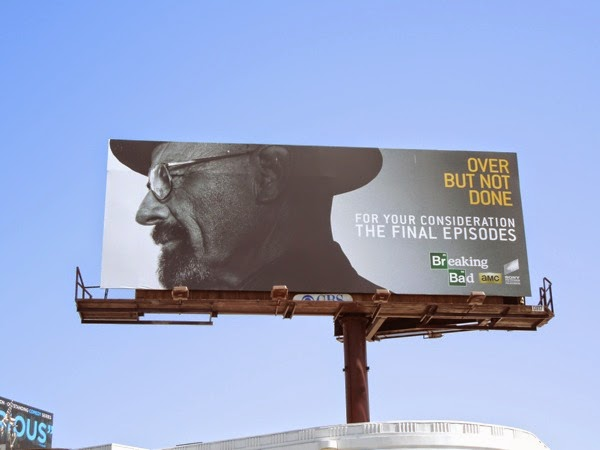 Breaking Bad final episodes Emmy 2014 billboard
