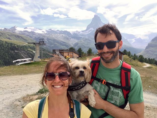 Matterhorn from end of 5-Seenweg, Sleachmour Adventures