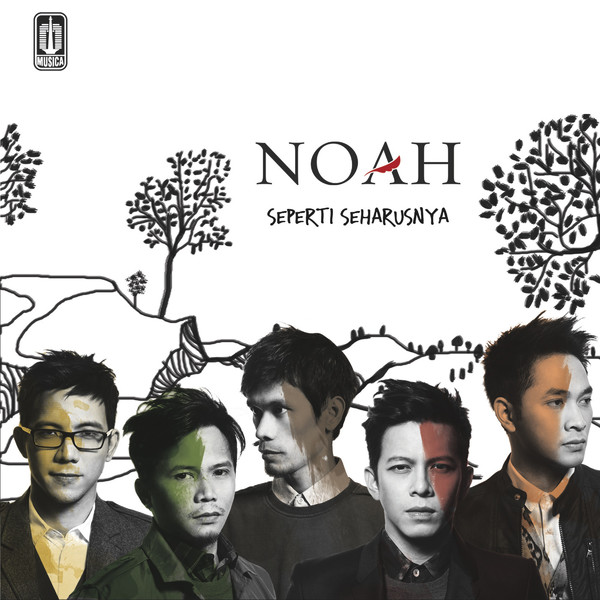 Noah - Raja Negeriku Cover Art Album