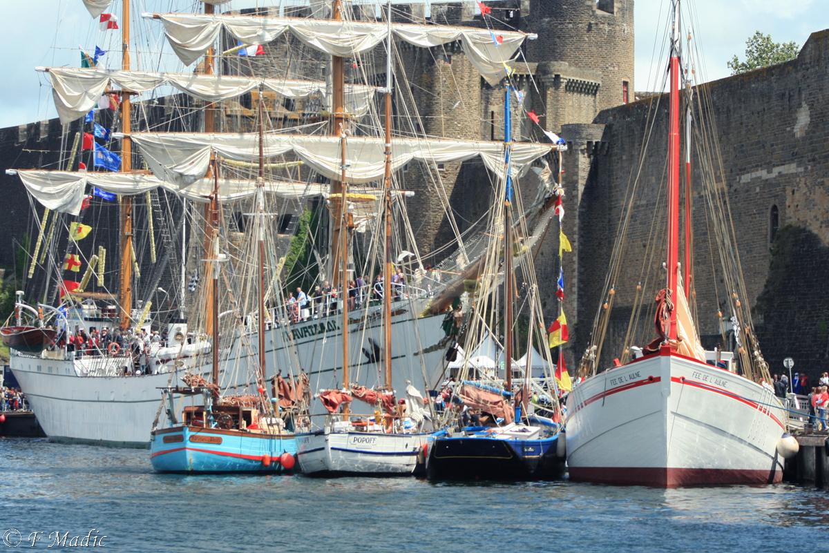 Tradboats voiliers traditionnels vieux gr ements et modernes grands voiliers f tes - H et h brest ...
