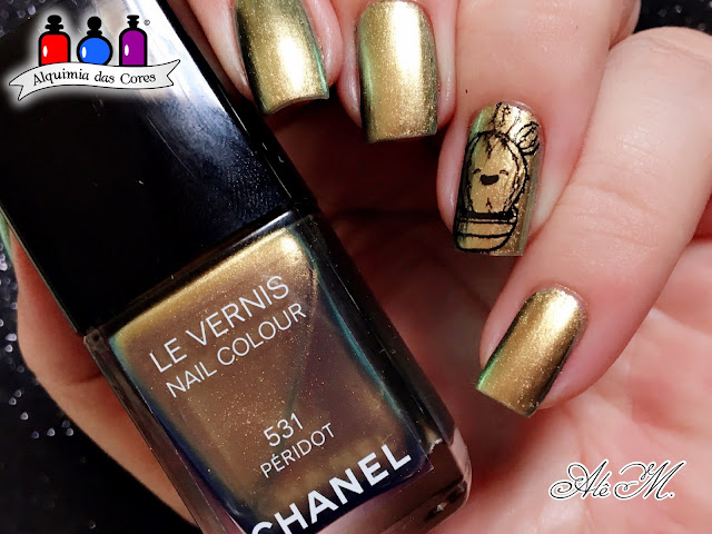 531 - Péridot, Chanel, Fall 2011, SB066, Multichrome