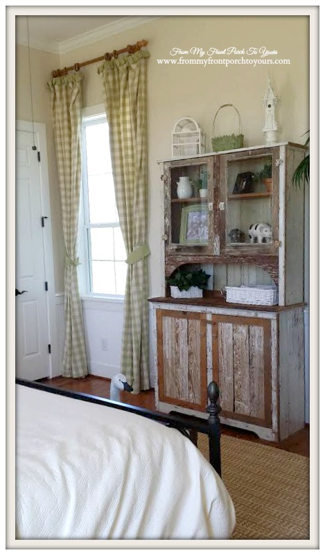 Buffalo Check Curtains-Farmhouse Model Home-Trendmaker Homes- From My Front Porch To Yours