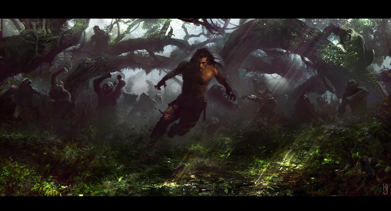 Kev jenkins - Tarzan gorille ...