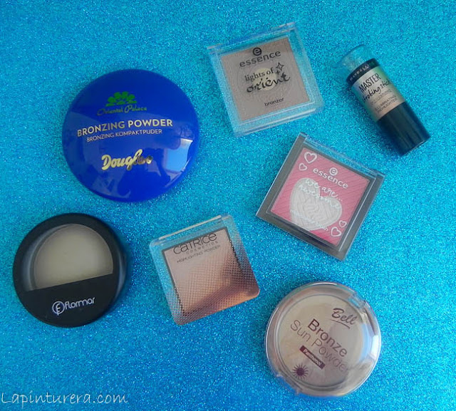 productos maquillaje polvo