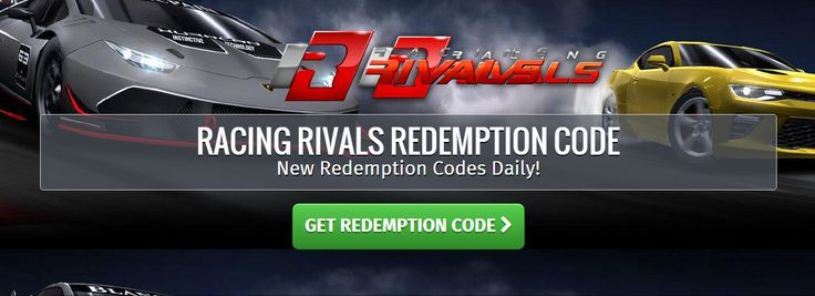 racing rivals redemption code - Racing Rivals on Twitter Here is the last code of the weekend Good