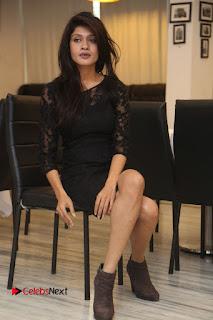 Actress Kimaya Phtoos in Black Short Dress at Kotha Kothaga Unnadi Press Meet .COM 0104.JPG