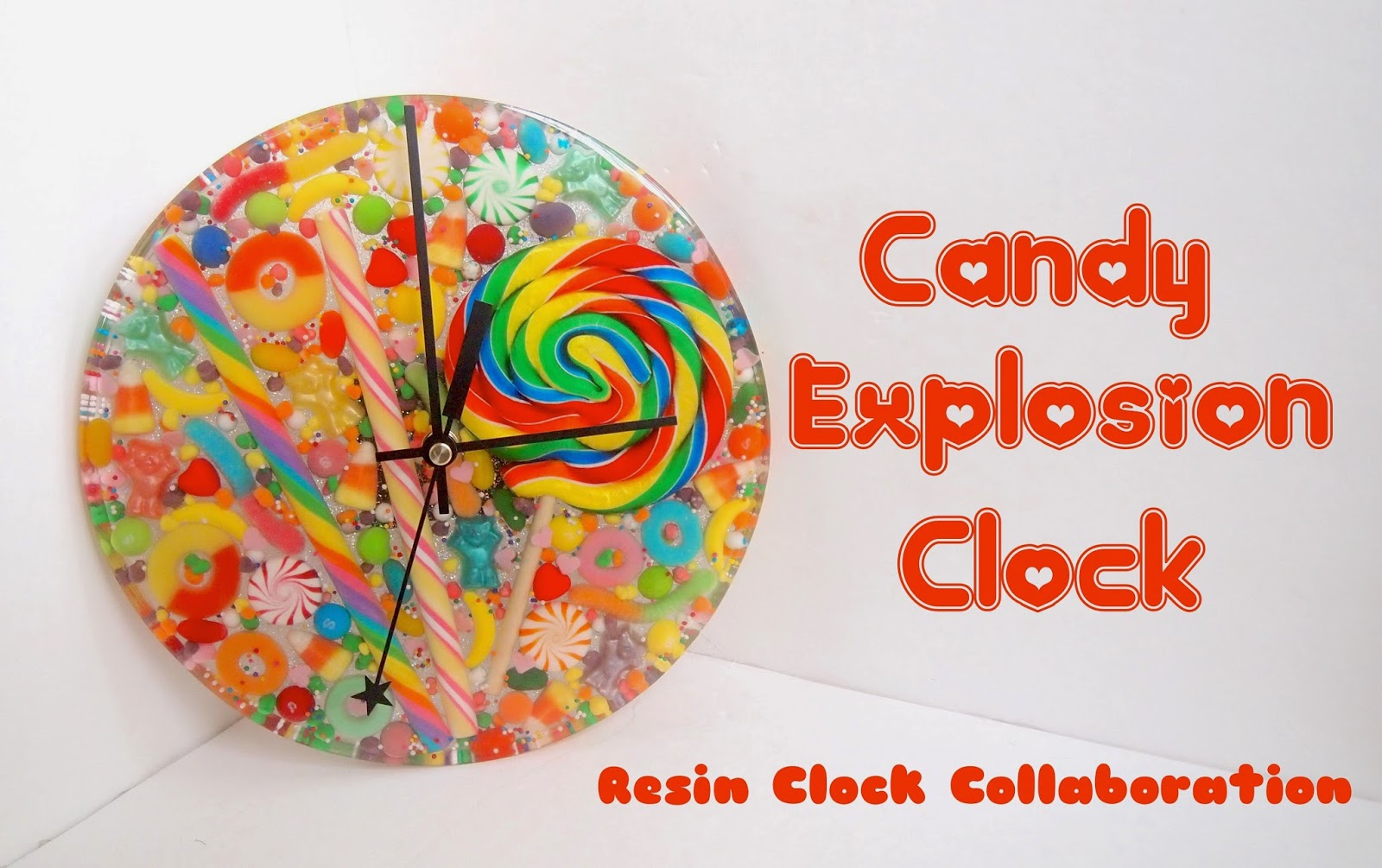 Craft Klatch 174 Wood And Resin Wall Clock Diy Home Decor