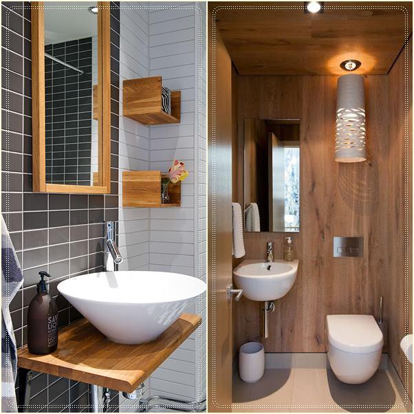 Construindo minha casa clean consultoria da sala e lavabo for Fotos lavabos pequenos
