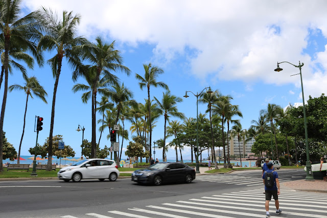 Exploring Waikiki on Foot