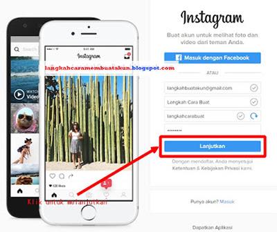Buat Akun Instagram Lewat Google | Daftar Instagram di Google