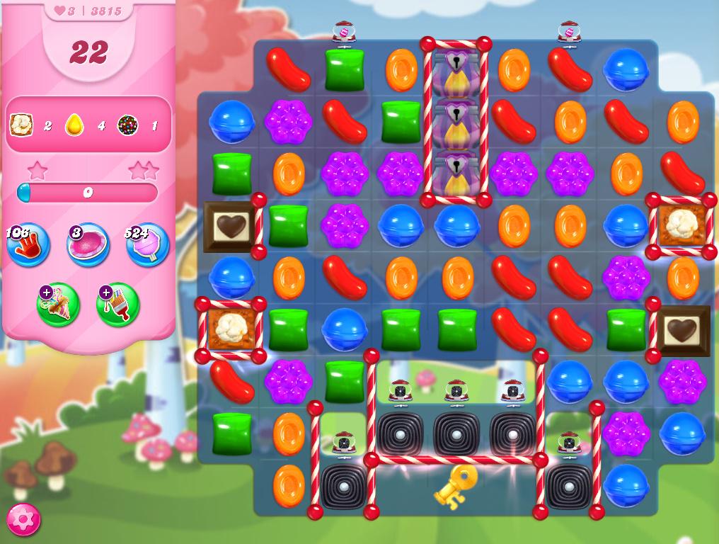 Candy Crush Saga level 3815