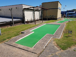 Arnold Palmer Mini Golf course in Cleethorpes