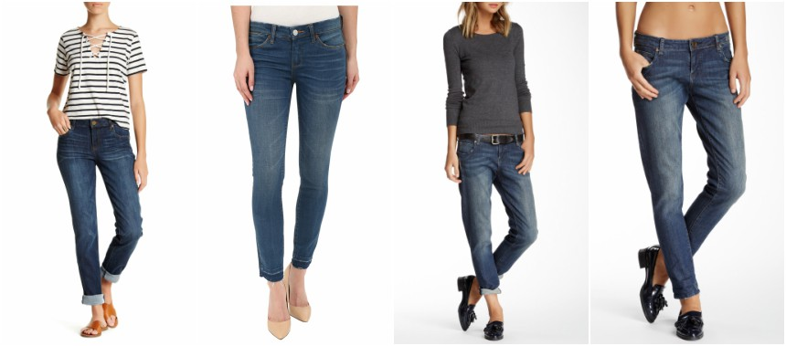 Kut from the Kloth Boyfriend Jeans and Kut from the Kloth Cleaned Up Boyfriend Jeans for only $22 (reg $89)