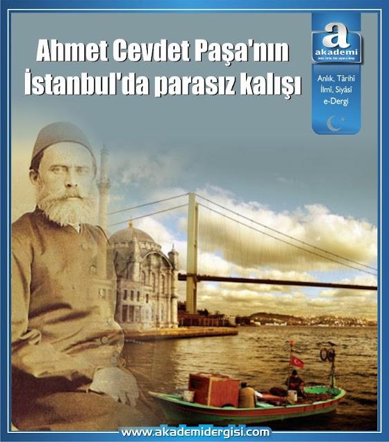Ahmet Cevdet Paşa'nın İstanbul'da parasız kalışı