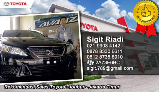 Harga Mobil Toyota Cibubur Jakarta Timur 2015