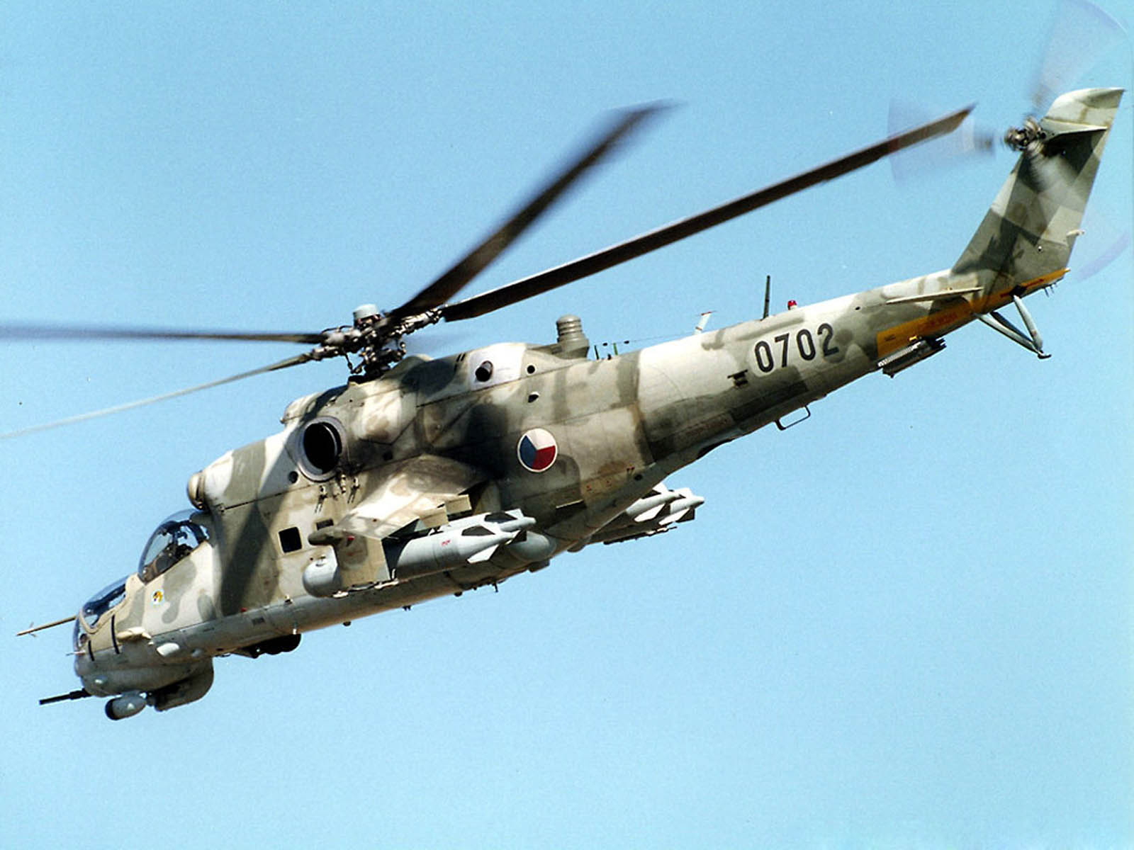 wallpaper: mi 24 Hind Helicopter