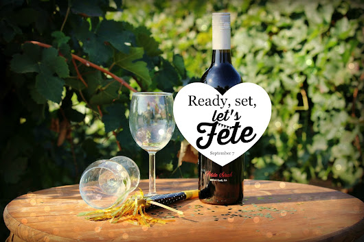 Fete the Wine - Coming in September