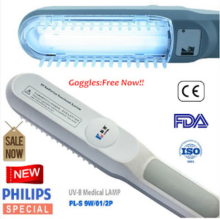 311nm Narrowband UVB lamp Home Phototherapy Light for Psoriasis Ezcema Vitiligo