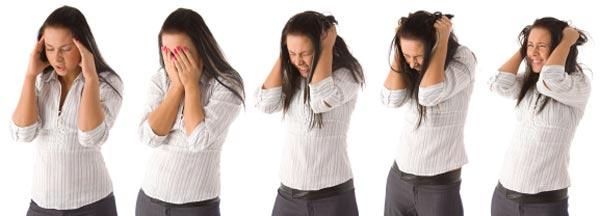 Manakah tingkat kecemasan yang anda sering alami ?