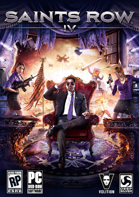 Saints Row IV 4 Download Cover Free Game