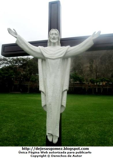 Imagen de Jesús Jesucristo en Campo Fé (Puente Piedra). Foto de Jesús tomada por Jesus Gómez